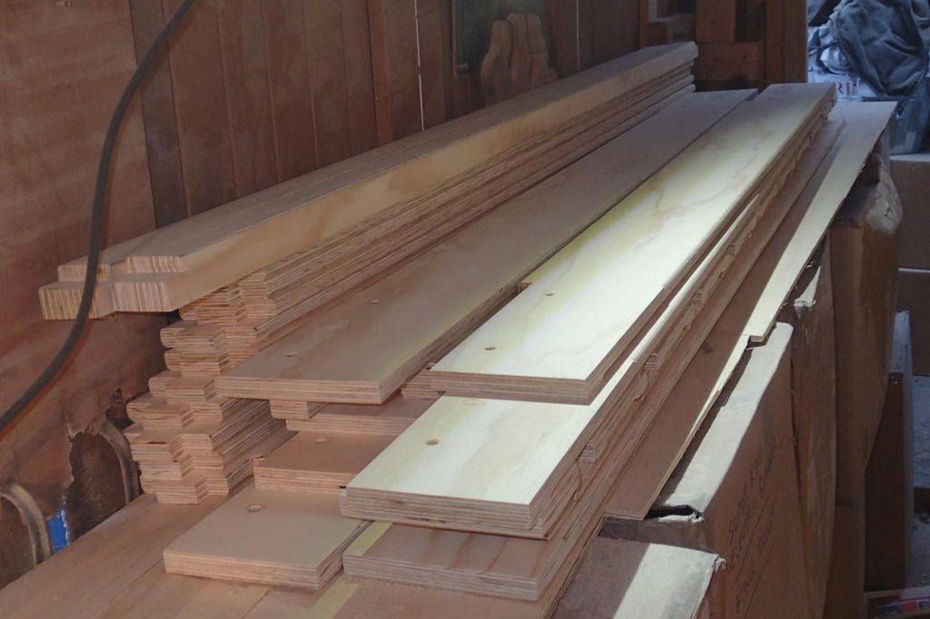 Custom planks cut to size